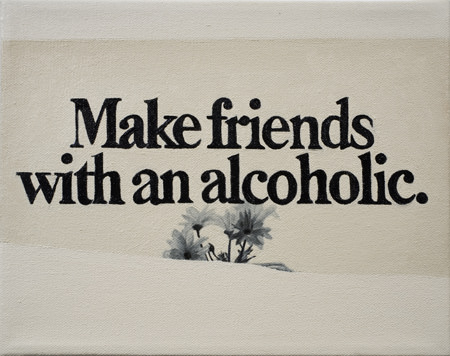 Make Friends with an Alcoholic